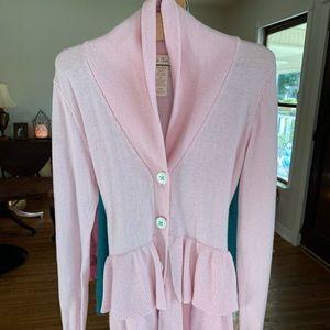 Matilda Jane pin ruffle cardigan size 8